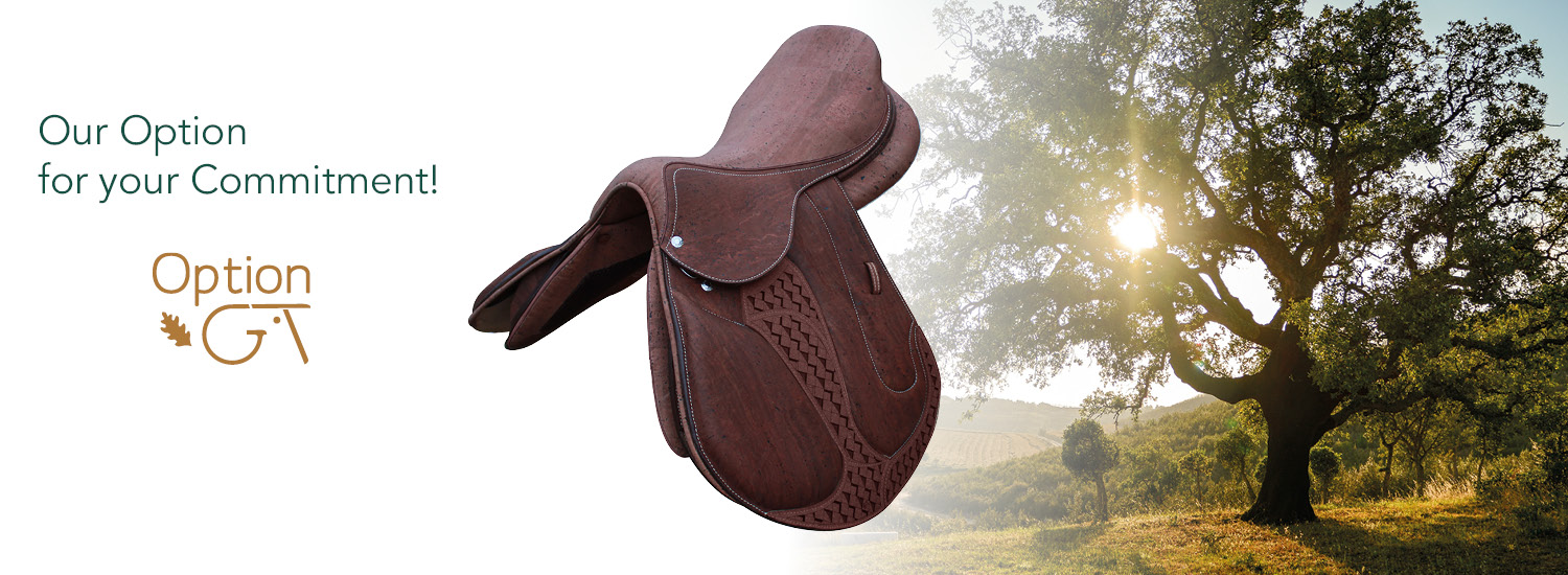 GT option, oak saddle